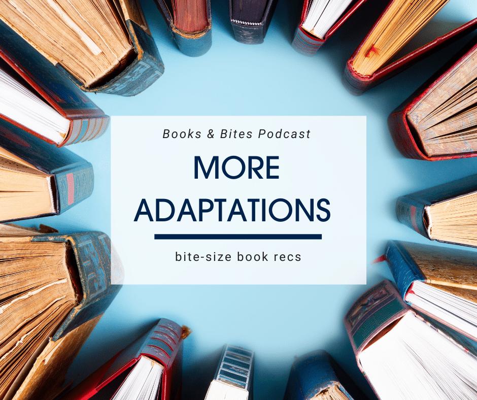 Bite-size book recs blog header